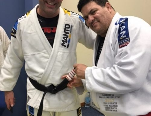 Coach Scott promoted to 4th Degree Black belt in Brazil by Master Rigan Machado