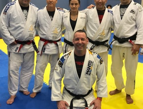 Coach Scott trains in Brazil with the best of the best